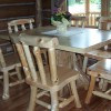 Log Tables & Chairs
