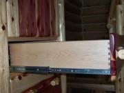 Full Extension Slides and Dovetailed Drawer