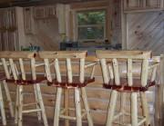 Red Cedar Bar Stools