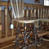 Steam Bent Hickory Bar Stool