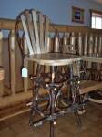 Steam Bent Hickory Bar Stool